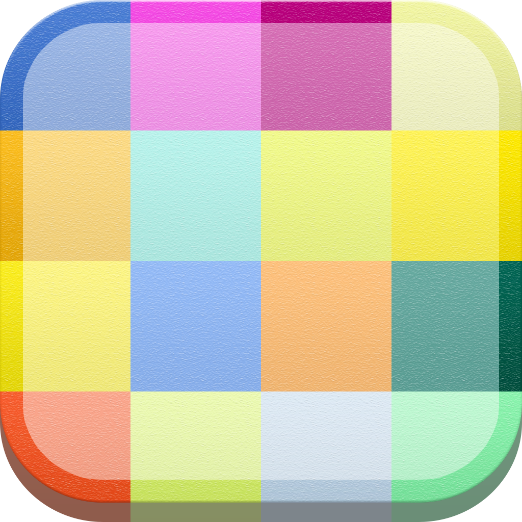 Colorful Squares Flow Colors by Lubos Lenco