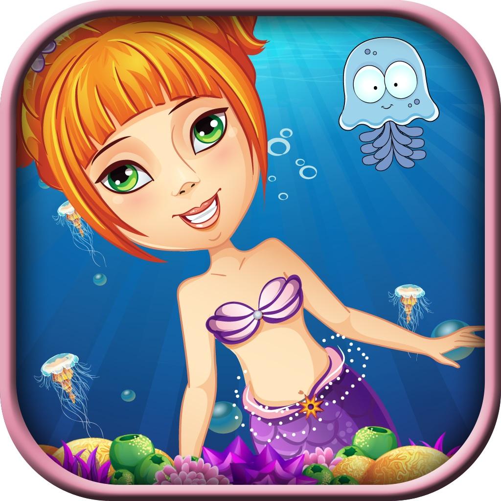 神奇美人鱼迷宫女孩 - 海洋生物避免冒险 pro